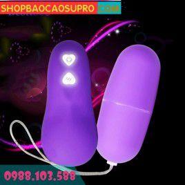 Sex toy Cho Nữ - Trứng rung không dây Model - yêu rảnh tay - Rung khác lạ với 68 tần số
