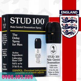 Yêu thật lâu với Siêu Stud 100 Pro - Trị Xuất Tinh Sớm đến từ Anh Quốc