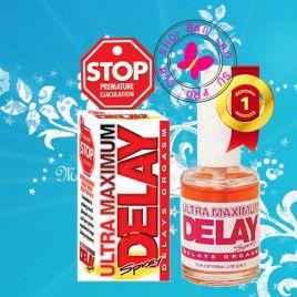 Thuốc xịt trì hoãn xuất tinh sớm Stop Ultra Maximum Delay – Tha hồ thời gian yêu chiều nàng - Chai 45ml