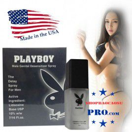 Chai xịt chống xuất tinh sớm PlayBoy - Chàng sướng lâu - Nàng Thỏa mãn