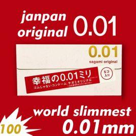 Bao Cao Su siêu mỏng Sagami Original 0.01